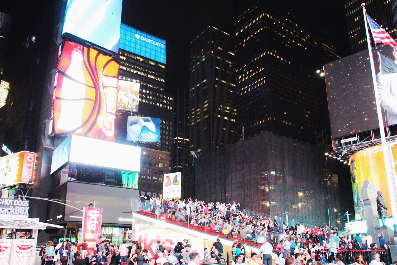 La folie de Time Square