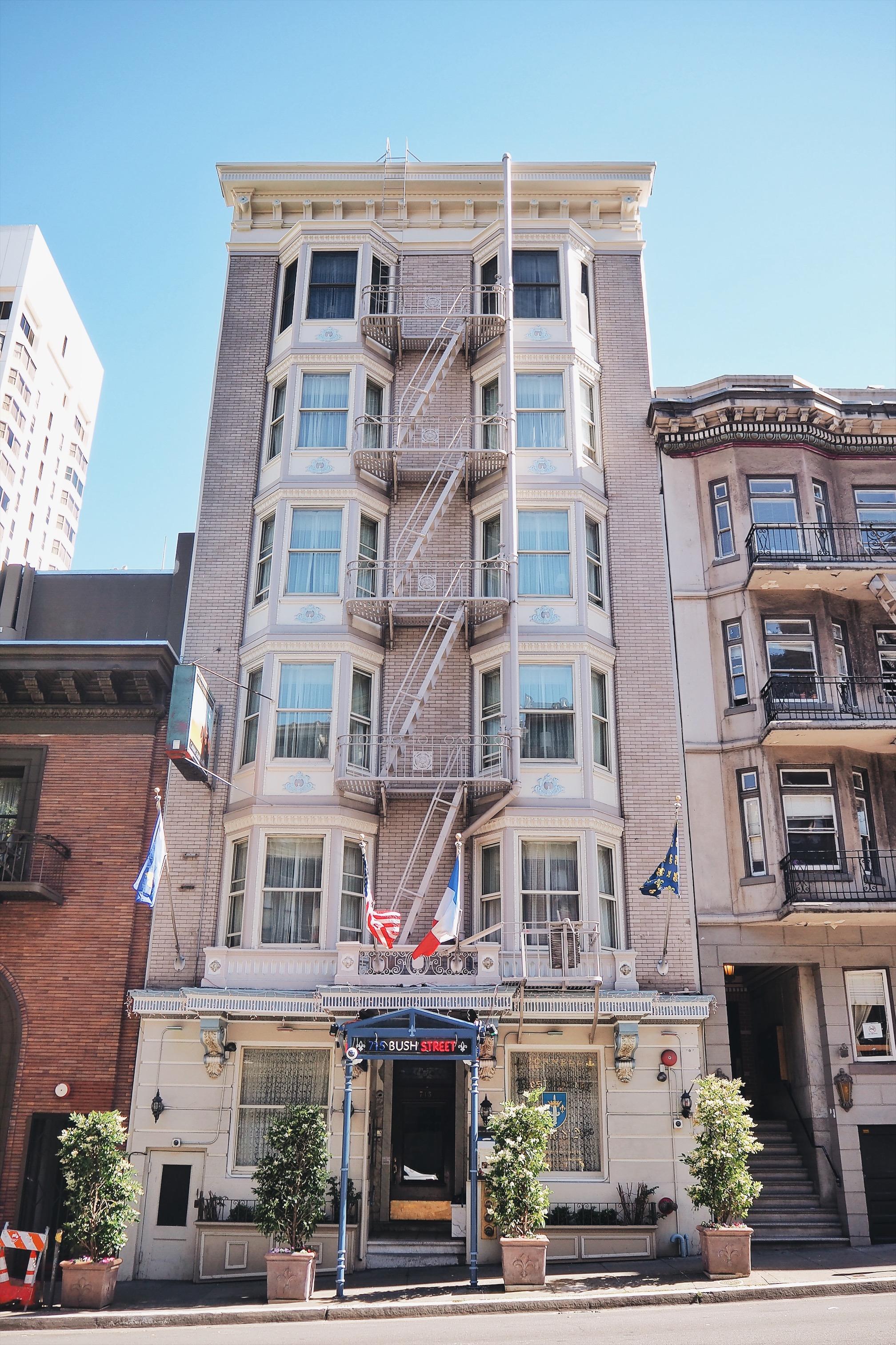 San Francisco Cornell Hotel de France