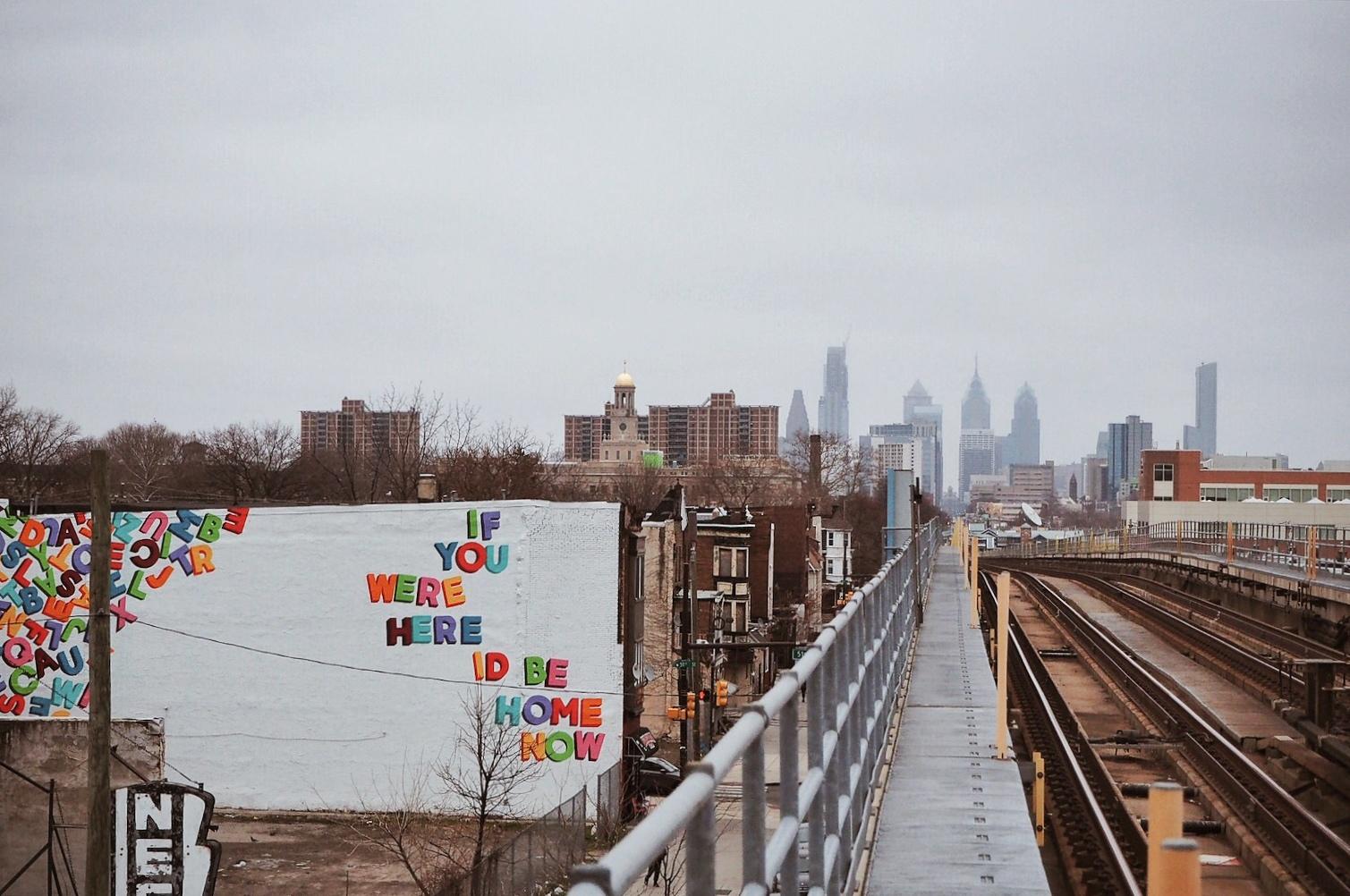 Philadelphie Mural Love Letter Tour