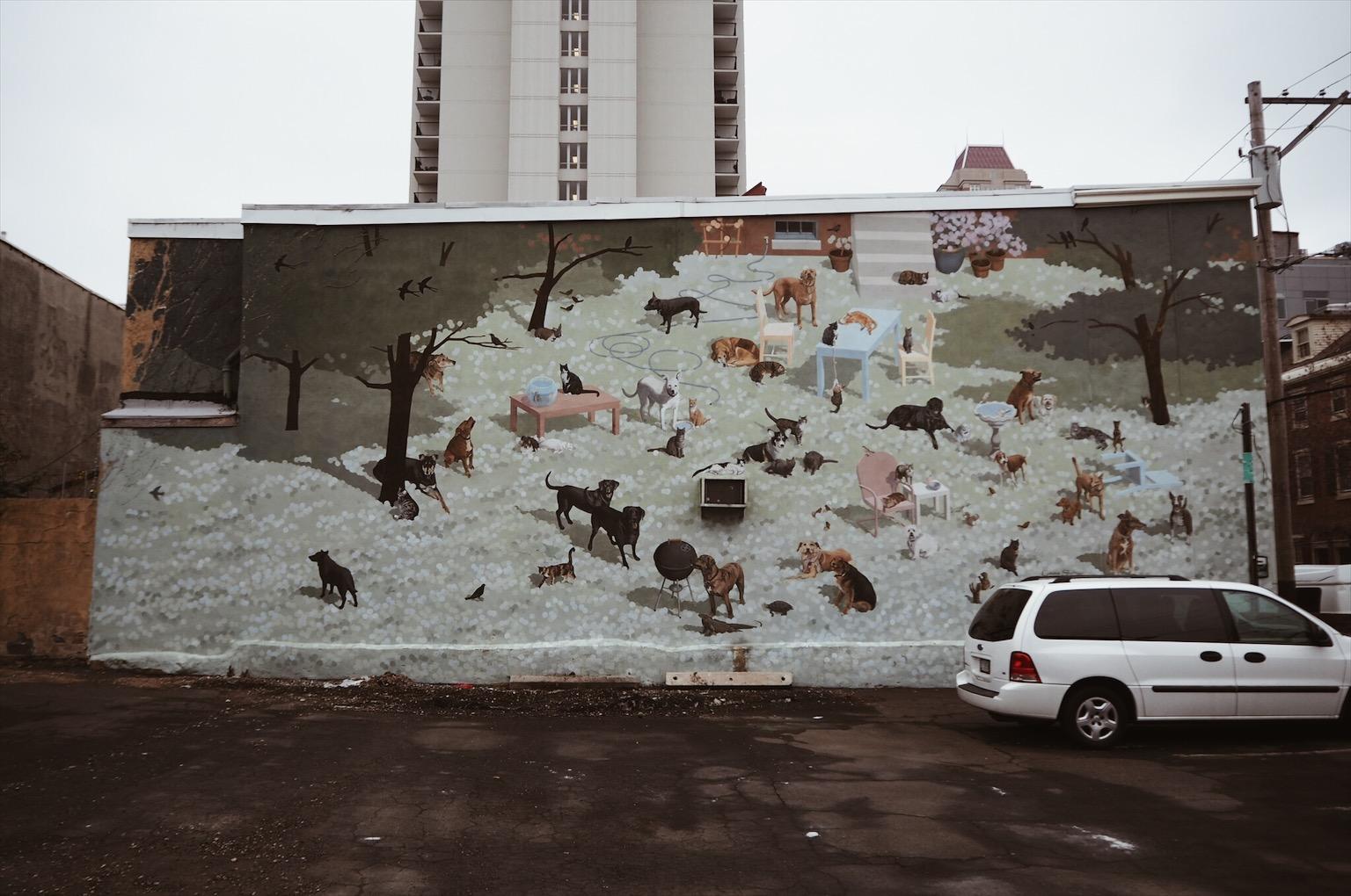 Philadelphie Mural Arts Program