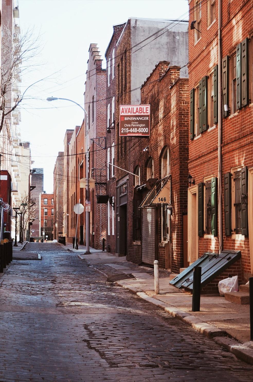 Philadelphie old city