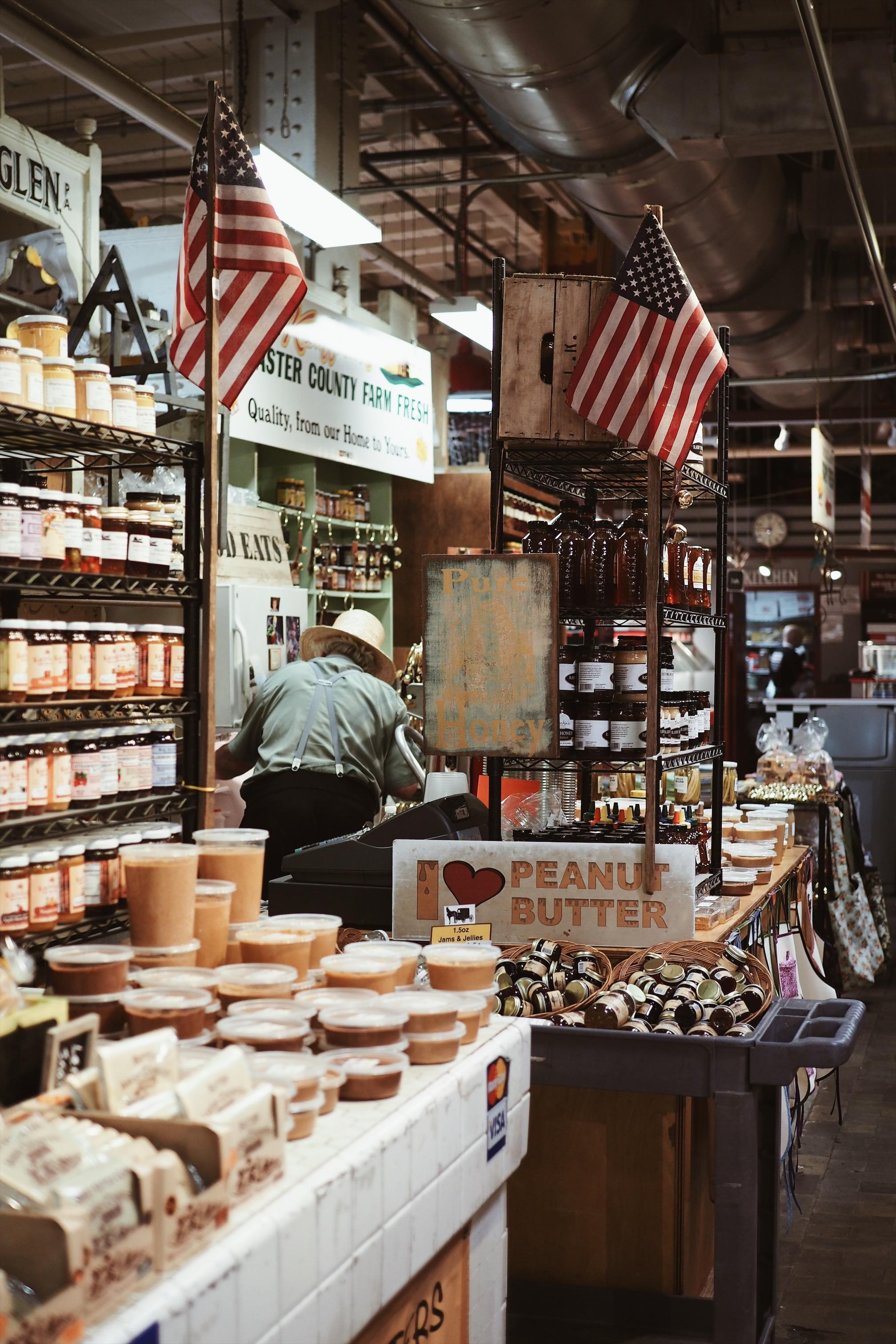 Philadelphie Reading Terminal Market